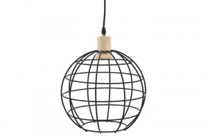 Hanglamp Globe Small en Large
